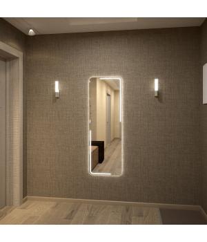 Зеркало с подсветкой в ванную Диана 120х37 см